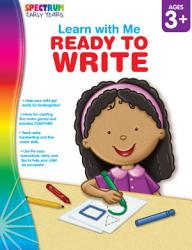 Ready To Write Ages 3 6 Book PDF