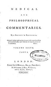 Medical and Philosophical Commentaries: Volume 6