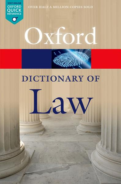 Download A Dictionary of Law Book