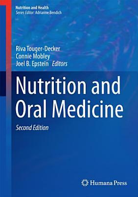 Nutrition and Oral Medicine PDF
