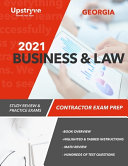 2021 Georgia Business and Law Contractor Exam Prep