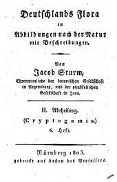 Deutschlands Flora: in Abbildungen nach der Natur mit Beschreibungen. ¬Abt. ¬II., Cryptogamia ; H. 6, Band 2,Ausgabe 6
