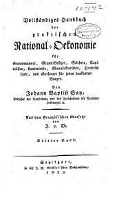 Vollständiges handbuch der praktischen national-oekonomie...