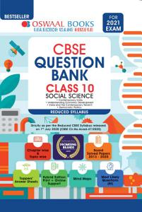 Oswaal CBSE Question Bank  Social Science  Class 10  Reduced Syllabus  For 2021 Exam  PDF