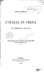 L'Italia in China: il pericolo giallo