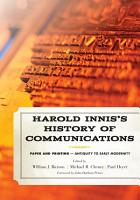 Harold Innis s History of Communications PDF