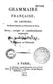 Grammaire françoise