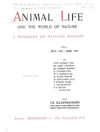 Animal Life and the World of Nature PDF