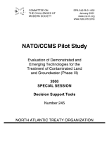 Evaluation of demonstrated and emerging technologies for the treatment of contaminated land and groundwater  phase III  2000 special sessiondecision support tools  PDF