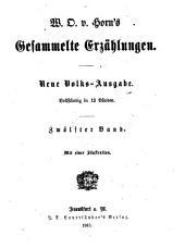 W.O. v. Horn's gesammelte Erzählungen: Band 12