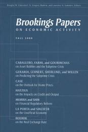 Brookings Papers on Economic Activity: Fall 2008
