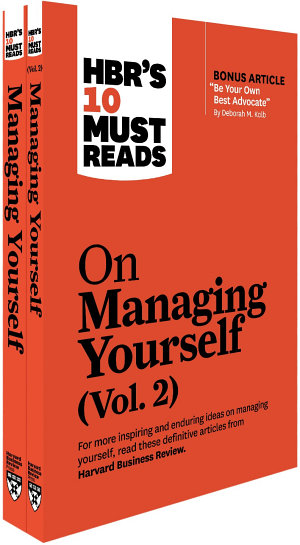 HBR s 10 Must Reads on Managing Yourself 2 Volume Collection