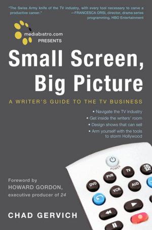 Mediabistro com Presents Small Screen  Big Picture