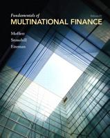Fundamentals of Multinational Finance PDF