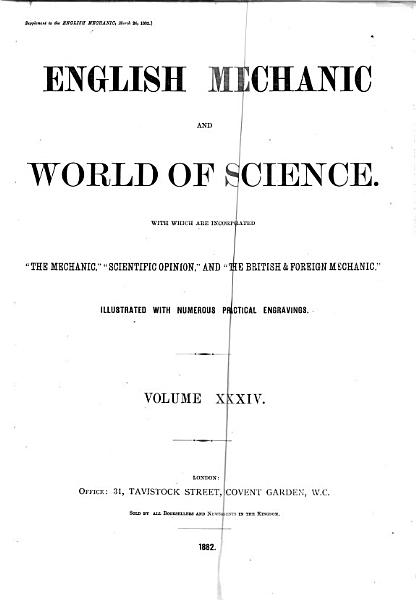 Download English Mechanic and World of Science Book
