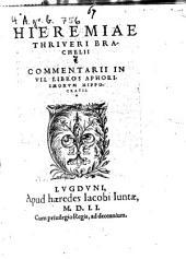 Commentarii in septem libros Aphorismorum Hippocratis
