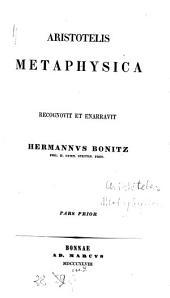 Metaphysica: Τόμος 1