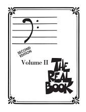 The Real Book - Volume II (Songbook): Bass Clef Edition