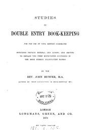 Studies in double entry book-keeping
