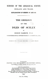 The Geology of the Isles of Scilly: Issue 357