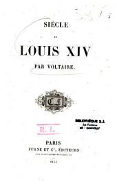 Siècle de Louis XIV de Voltaire