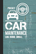 Pocket Car Maintenance Log Book Small