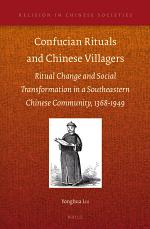 Confucian Rituals and Chinese Villagers