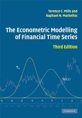 The Econometric Modelling of Financial Time Series: Edition 3