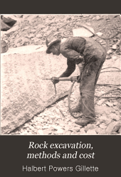 Rock Excavation, Methods and Cost