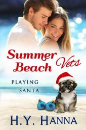 Summer Beach Vets: Playing Santa (Christmas Romance Book 2.5): (A sweet clean small town beach romance set Down Under)