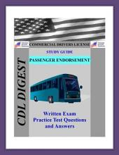 CDL Practice Test Study Guide: Passenger Endorsement