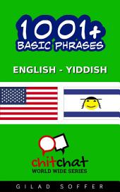 1001+ Basic Phrases English - Yiddish