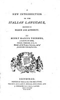 A New Introduction to the Italian Language PDF