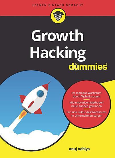 Growth Hacking f  r Dummies PDF