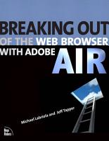 Breaking Out of the Web Browser with Adobe AIR PDF