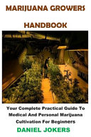 Marijuana Growers Handbook Book PDF