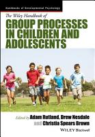 The Wiley Handbook of Group Processes in Children and Adolescents PDF
