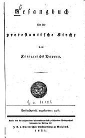 Gesangbuch für die protestantische Kirche des Königreichs Bayern
