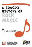 A Concise History of Rock Music PDF