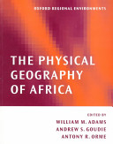 The Physical Geography of Africa PDF