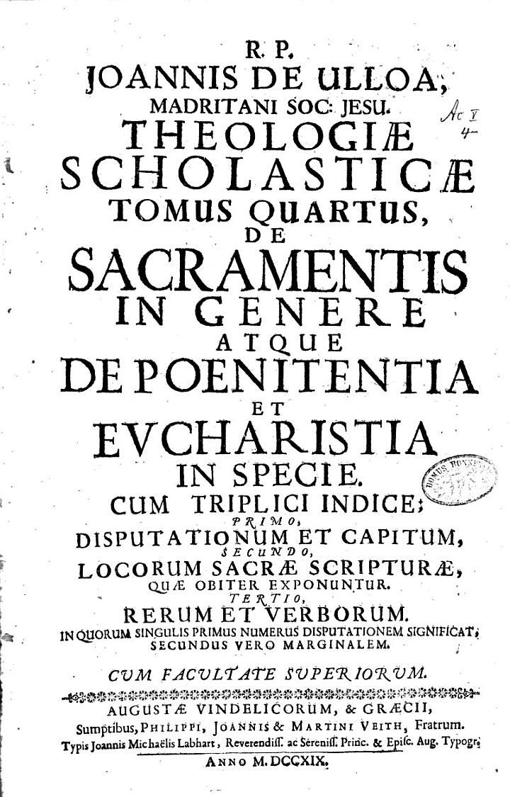 Theologia Scholastica