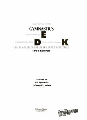 USA Gymnastics Safety Handbook for Gymnastics and Other Sport Activities