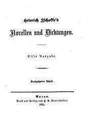 Novellen und Dichtungen: Dreizehnter Theil: Genfer Novellen
