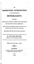 An Elementary Introduction to the Knowledge of Mineralogy PDF