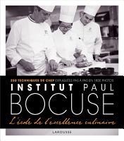 Institut Bocuse   L   cole de l excellence culinaire PDF