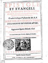 Epistole et evangeli che si leggono tvtto l'anno alle Messe: secondo l'vso della S. Rom. Chiesa, et ordine del Messale Riformato