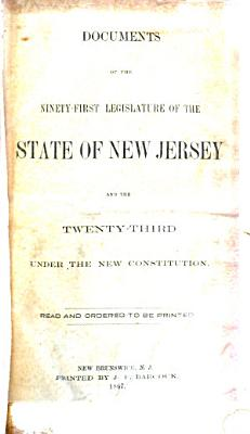 Documents of the     Legislature of the State of New Jersey PDF