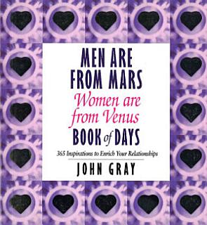 Men Are From Mars  Women Are From Venus Book Of Days Book