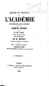 Revue des travaux et comptes rendus de ses séances: Volumes37à38