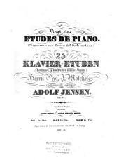 Vingt-cinq études de piano: (préparatoires aux oeuvres de l'école moderne) ; op. 32, Volume 2